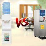 Nên dùng máy đun nước nóng hay cây nước nóng lạnh?