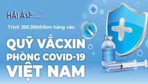 cùng Hải Âu group góp quỹ vacxin covid19